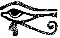 Eye of Ra hieroglyph