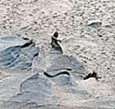 The 'Statue' on Mars | Acksblog