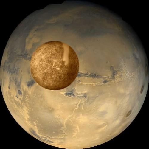 Mercury the Former Core of Mars | Acksblog