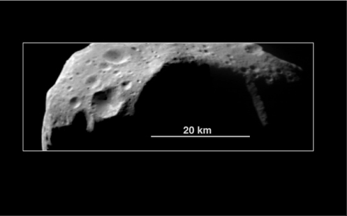 Fig 2 Main belt asteroid 253 Mathilde photographed by Near