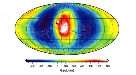 Martian Geoid -J2002