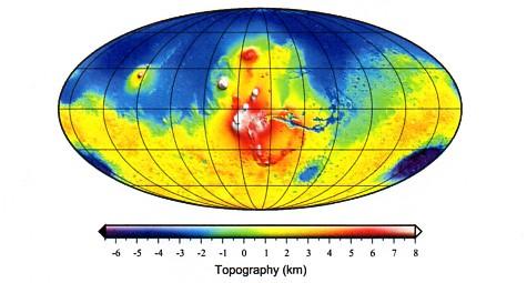 Martian Topography001