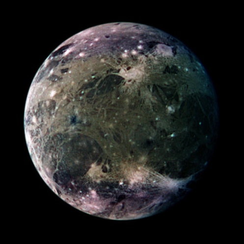 Fig. 1 Galilean moon Ganymede