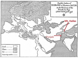 Fig. 5. H G Wells map showing samudra