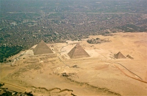 Fig. 1 Egypt Pyramids on Giza Plateau