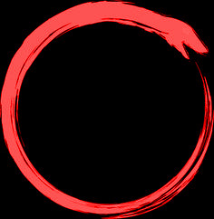 Fig.2 Ouroboros eclipse of Mars.